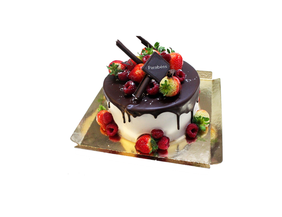 Drip Cake Chocolate Escorrido